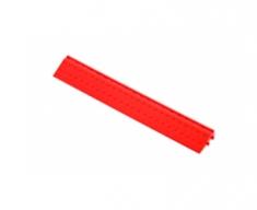 Боковой элемент обрамления с пазами под замки, цвет Красный